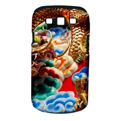 Thailand Bangkok Temple Roof Asia Samsung Galaxy S III Classic Hardshell Case (PC+Silicone)