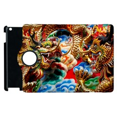 Thailand Bangkok Temple Roof Asia Apple iPad 2 Flip 360 Case