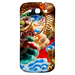 Thailand Bangkok Temple Roof Asia Samsung Galaxy S3 S III Classic Hardshell Back Case