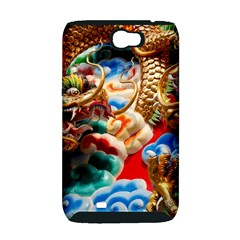 Thailand Bangkok Temple Roof Asia Samsung Galaxy Note 2 Hardshell Case (PC+Silicone)