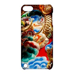 Thailand Bangkok Temple Roof Asia Apple iPod Touch 5 Hardshell Case with Stand