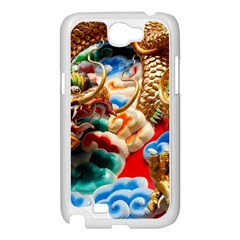 Thailand Bangkok Temple Roof Asia Samsung Galaxy Note 2 Case (White)