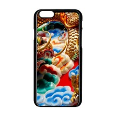 Thailand Bangkok Temple Roof Asia Apple iPhone 6/6S Black Enamel Case