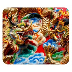 Thailand Bangkok Temple Roof Asia Double Sided Flano Blanket (Small)