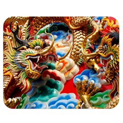 Thailand Bangkok Temple Roof Asia Double Sided Flano Blanket (Medium)