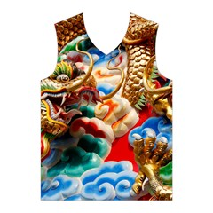 Thailand Bangkok Temple Roof Asia Men s Basketball Tank Top