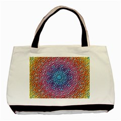 Tile Background Pattern Texture Basic Tote Bag (Two Sides)