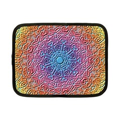 Tile Background Pattern Texture Netbook Case (Small)