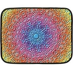 Tile Background Pattern Texture Fleece Blanket (Mini)