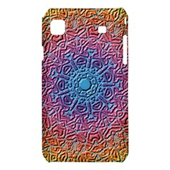 Tile Background Pattern Texture Samsung Galaxy S i9008 Hardshell Case
