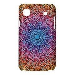 Tile Background Pattern Texture Samsung Galaxy SL i9003 Hardshell Case