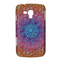 Tile Background Pattern Texture Samsung Galaxy Duos I8262 Hardshell Case