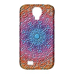 Tile Background Pattern Texture Samsung Galaxy S4 Classic Hardshell Case (PC+Silicone)