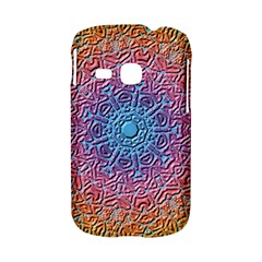 Tile Background Pattern Texture Samsung Galaxy S6310 Hardshell Case