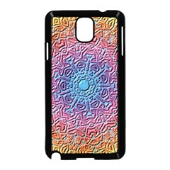 Tile Background Pattern Texture Samsung Galaxy Note 3 Neo Hardshell Case (Black)