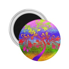 Tree Colorful Mystical Autumn 2.25  Magnets