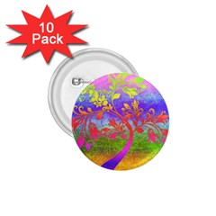 Tree Colorful Mystical Autumn 1.75  Buttons (10 pack)