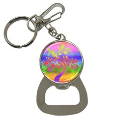 Tree Colorful Mystical Autumn Bottle Opener Key Chains