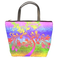 Tree Colorful Mystical Autumn Bucket Bags
