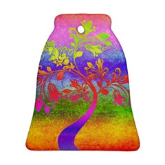 Tree Colorful Mystical Autumn Ornament (Bell)