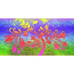 Tree Colorful Mystical Autumn YOU ARE INVITED 3D Greeting Card (8x4)