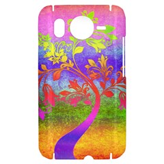 Tree Colorful Mystical Autumn HTC Desire HD Hardshell Case