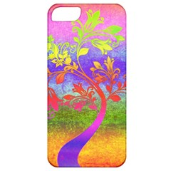 Tree Colorful Mystical Autumn Apple iPhone 5 Classic Hardshell Case