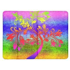 Tree Colorful Mystical Autumn Kindle Fire (1st Gen) Flip Case