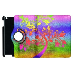 Tree Colorful Mystical Autumn Apple iPad 2 Flip 360 Case