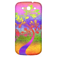 Tree Colorful Mystical Autumn Samsung Galaxy S3 S III Classic Hardshell Back Case