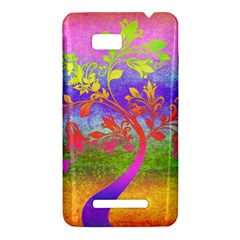 Tree Colorful Mystical Autumn HTC One SU T528W Hardshell Case