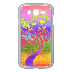 Tree Colorful Mystical Autumn Samsung Galaxy Grand DUOS I9082 Case (White)