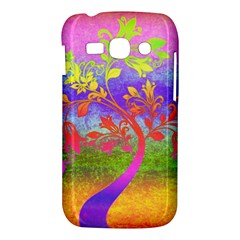 Tree Colorful Mystical Autumn Samsung Galaxy Ace 3 S7272 Hardshell Case