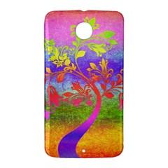 Tree Colorful Mystical Autumn Nexus 6 Case (White)