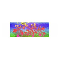 Tree Colorful Mystical Autumn Satin Scarf (Oblong)