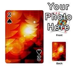 Tree Trees Silhouettes Silhouette Playing Cards 54 Designs