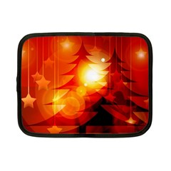Tree Trees Silhouettes Silhouette Netbook Case (Small)