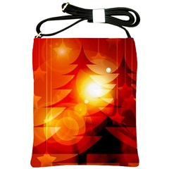 Tree Trees Silhouettes Silhouette Shoulder Sling Bags