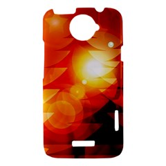 Tree Trees Silhouettes Silhouette HTC One X Hardshell Case