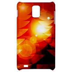 Tree Trees Silhouettes Silhouette Samsung Infuse 4G Hardshell Case
