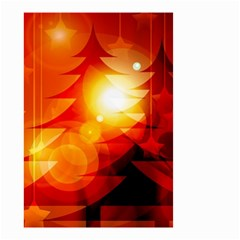 Tree Trees Silhouettes Silhouette Small Garden Flag (Two Sides)