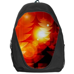 Tree Trees Silhouettes Silhouette Backpack Bag