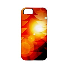 Tree Trees Silhouettes Silhouette Apple iPhone 5 Classic Hardshell Case (PC+Silicone)