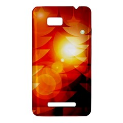 Tree Trees Silhouettes Silhouette HTC One SU T528W Hardshell Case