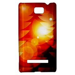 Tree Trees Silhouettes Silhouette HTC 8S Hardshell Case