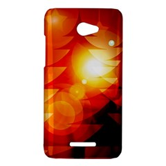 Tree Trees Silhouettes Silhouette HTC Butterfly X920E Hardshell Case