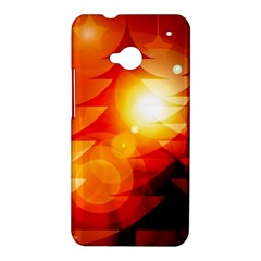 Tree Trees Silhouettes Silhouette HTC One M7 Hardshell Case