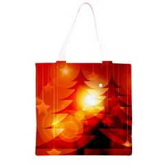 Tree Trees Silhouettes Silhouette Grocery Light Tote Bag