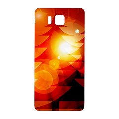 Tree Trees Silhouettes Silhouette Samsung Galaxy Alpha Hardshell Back Case