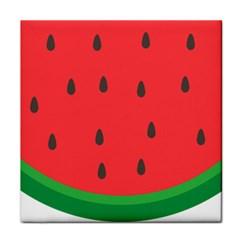 Watermelon Fruit Tile Coasters